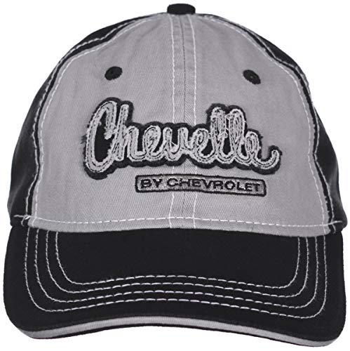 H3 Headwear Chevy Chevelle Embroidered Gray & Black Adjustable Cap