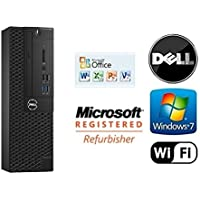 Custom Dell Gaming Small Form Factor PC Intel Quad Core i7 3.4GHz Windows 7 Pro / 8GB RAM / NEW 120GB Solid State Drive SSD / WiFi / + 1GB HDMI NVIDIA