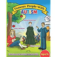 Famous People with Autism: Coloring and Activity Book
