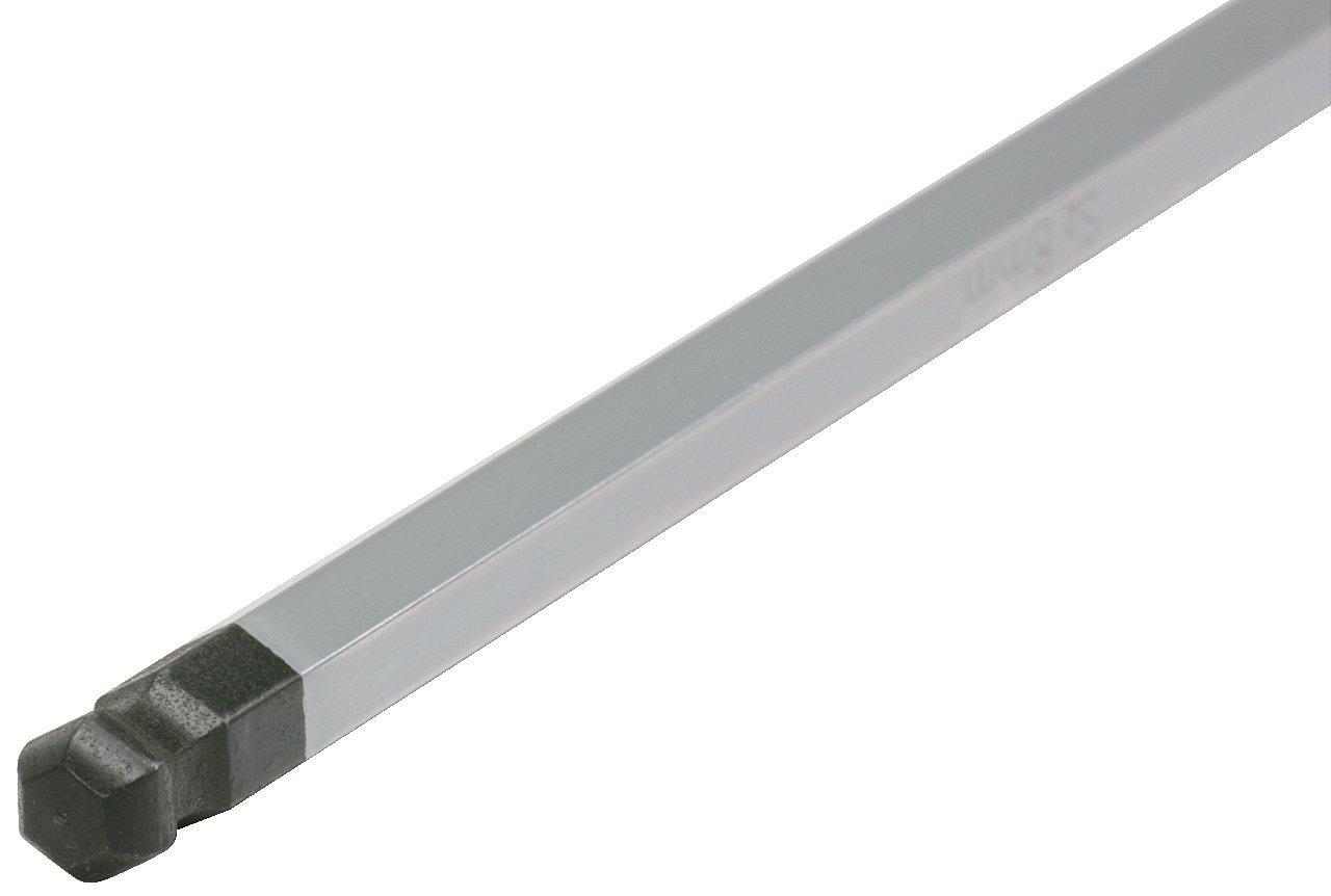 tama/ño: 10 mm, L=200 mm KS Tools 151.8138 Llave Allen acodada con cabeza esf/érica y empu/ñadura en T 10mm