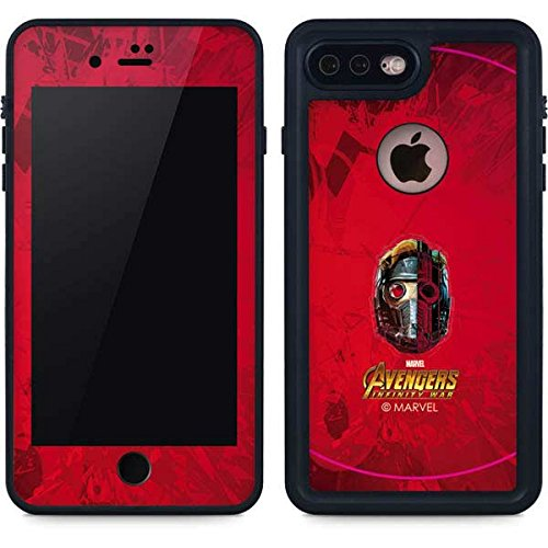Guardians Of The Galaxy Iphone 7 Plus Case   Star Lord Futurist   Marvel   Skinit Waterproof Case