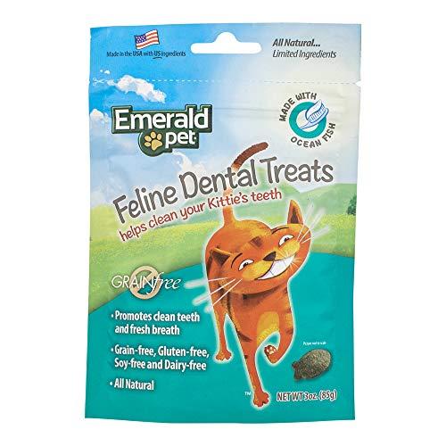 Smart N Tasty Cat Ocean Fish Dental Grain Free Treats, 3-Ounce