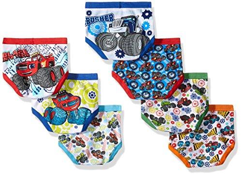 Nickelodeon Boys' Toddler 7pk Underwear, Assorted, 4T by Nickelodeon (Image #2)