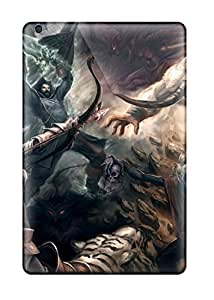 Durable Defender Case For Ipad Mini/mini 2 Tpu Cover(battle Fantasy Abstract Fantasy)