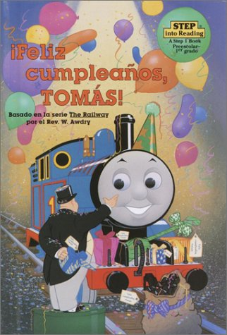 Feliz Cumpleanos, Tomas! Step into Reading Spanish: Amazon ...