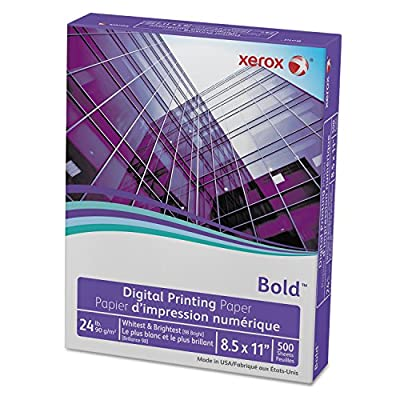 "Xerox Copy/Printer Paper,98 Ge/114 Iso,24Lb,8-1/2""X11"",500/Rm,White"