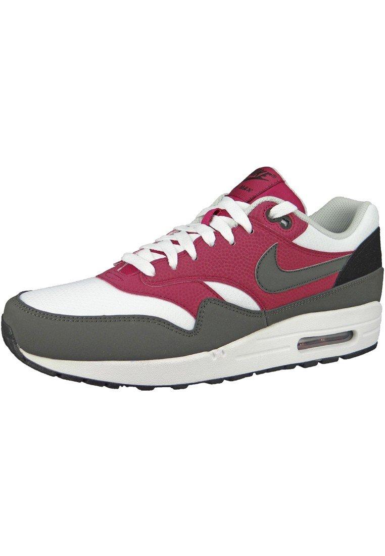 Nike Air Max 1 Essential 537383 Herren Laufschuhe  44 Magenta-Dunkelgrau-Wei?