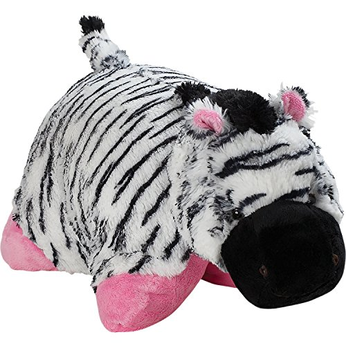 Signature Zippy Zebra Pillow Pet - 18