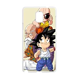 Samsung Galaxy Note 4 White Cell Phone Case Dragon Ball Z Phone Cases Fashion
