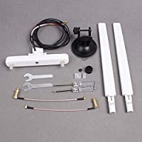 Hobby Signal Image Transmission Omnidirectional Antenna on Car Roof with Support Antenna Combo for DJI Phantom3/4