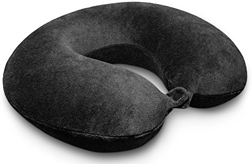 Travel Pillow - Kohbi Ultimate Travel Bliss Memory Foam Neck Pillow - Airplane Pillow - Car Pillow