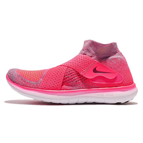 NIKE Womens Wmns Free RN Motion FK 2017, Racer Pink/True Berry Racer Pink/True Berry