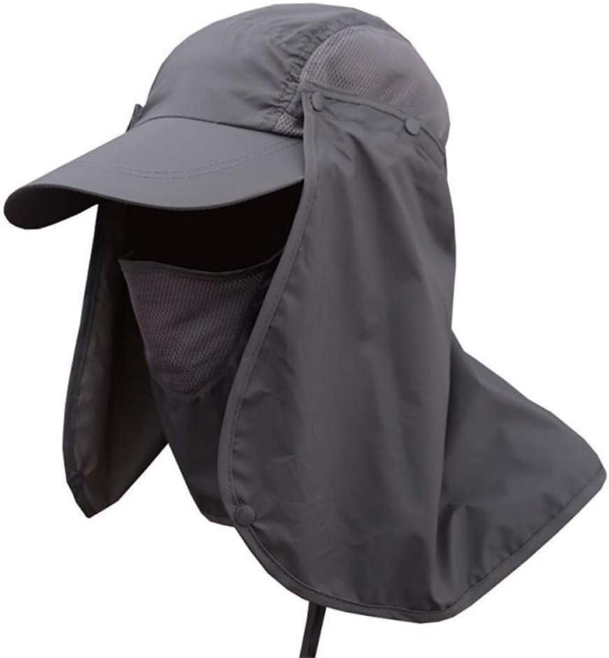 XIAOYUTOU 2019 Sombrero de Pesca Sombrero de Pescador Transpirable a Prueba de Agua Unisex Senderismo Poliéster al Aire Libre Sombrero de Cubo de Secado rápido Gorras Sombrero (Color : SH)