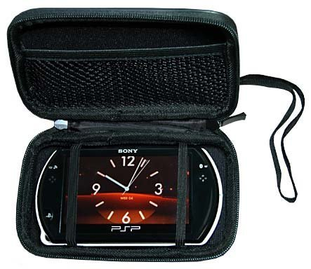 - PSP Go PSPGo Accessory. Premium Hard New Black Airform Carrying Case Sony PSP Go