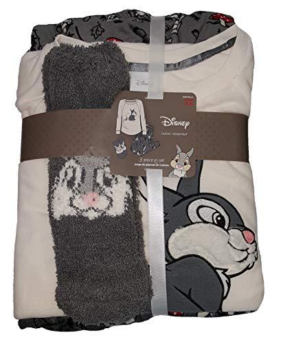 Disney Bambi Thumper Fleece Plush Pajama Sleep Set w/Socks - -
