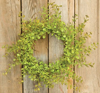 Heart of America Light Green Peppergrass Ring 10in.