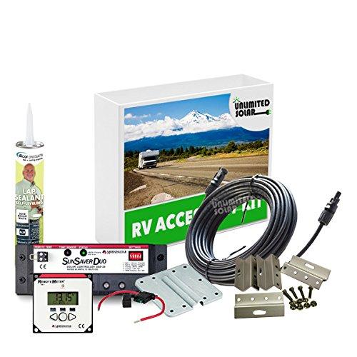 Rv Battery Monitor Panel : Unlimited solar watt volt advanced rv panel
