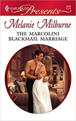 Book The Marcolini Blackmail Marriage