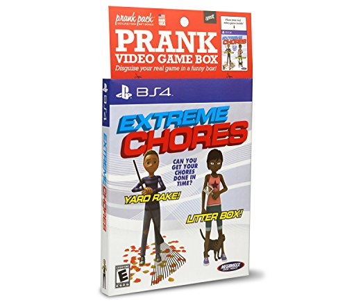 Price comparison product image Prank Pack Extreme Chores - Video Game Sleeve - BS4