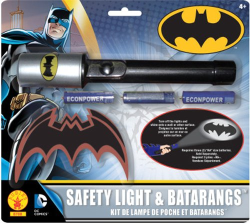 Robin Kids Costumes Kit (Rubies Batman The Brave and Bold Flashlight and Batarang Kit)