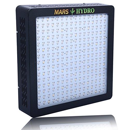 MarsHydro MARSII 1200 Led Grow Light Full Spectrum High Penentration Led Grow Lamp the 552W True Watt Panel Light & Lighting With Dual Veg/Flower Spectrum)
