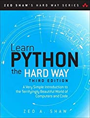 You Will Learn Python!    Zed Shaw has perfected the world's best system for learning Python. Follow it and you will succeed-just like the hundreds of thousands of beginners Zed has taught to date! You bring the discipline, commitment, and p...
