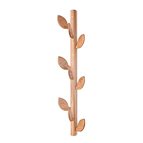 Amazon.com: Coat RACK Feifei - Perchero de madera maciza ...