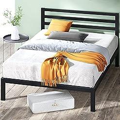 Zinus Black Metal Platform Bed