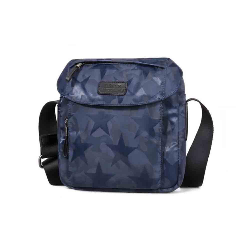 Sunny Schulter-Beutel-Kurier-Beutel-Geschäfts-beiläufige Tasche der Neuen Tarnungs-Männer, Moderne Beschaffenheit ist Ultra Licht und Nur 420g (Farbe : Star Blau, Größe : Large)