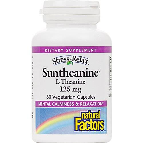 Natural Factors Stress Relax Suntheanine L Theanine product image