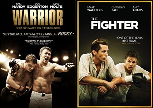 The Fighter & The Warrior DVD 2 Pack Boxing / MMA Fight Drama Movie Action Double Feature Set