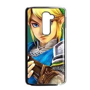 LG G2 Cell Phone Case Black_Super Smash Bros Link_006 Ywrfq