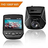 Full HD 1080P Car Dash Cam Built-in WIFI, 170°Wide Angle Dashboard Camera for Cars, WDR Night Vision, G-Sensor Recorder, Looping Recording, Parking monitor, Motion Detection dash camera for AZDOME Review