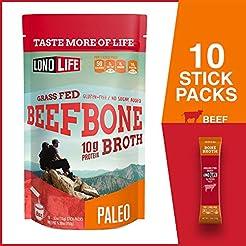 Beef Bone Broth Powder by LonoLife, Gras...
