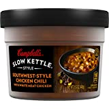 Campbell's Slow Kettle Style Soup, Southwest-Style Chicken Chili with White Meat, 15.7 Ounce (Pack of 8)