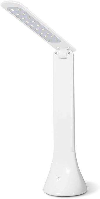 Lámpara de mesa moderna minimalista, lámpara LED de protección de ...