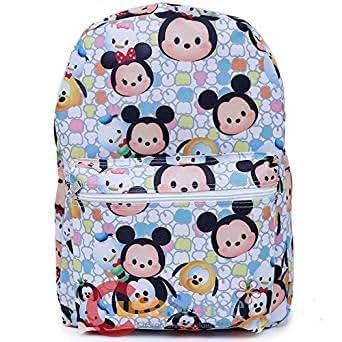 Remarkable Amazon Com Disney Tsum Tsum School Backpack 16In All Over Frankydiablos Diy Chair Ideas Frankydiabloscom