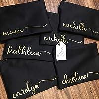 Custom Name Makeup Bag | Bridesmaid Gift | Monogram Bag