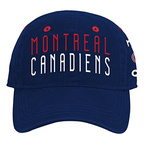 (Outerstuff NHL NHL Montreal Canadiens Infant My First Infant Slouch Hat, True Navy, Infant One Size)