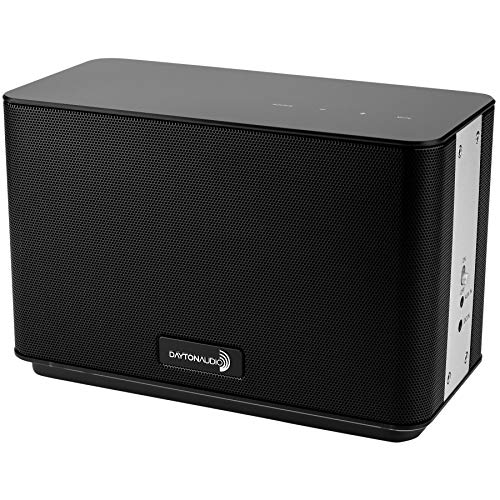 Dayton Audio AERO Wi-Fi Bluetooth Speaker with IR Remote Control Black