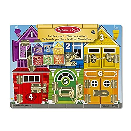Melissa & Doug Latches Wooden Activity Board-Best-Popular-Product