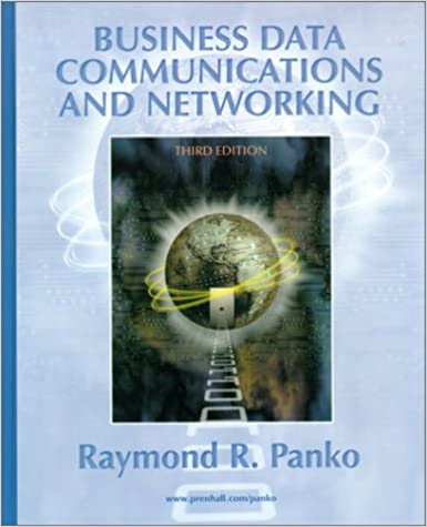 Business data communications and networking 3rd edition r r business data communications and networking 3rd edition r r panko raymond r panko 9780130882622 amazon books fandeluxe Choice Image