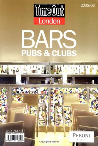 Time Out London Pubs and Bars (Time Out Guides)