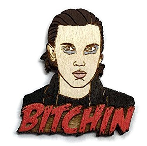 Stranger Things Eleven Bitchin' Pin