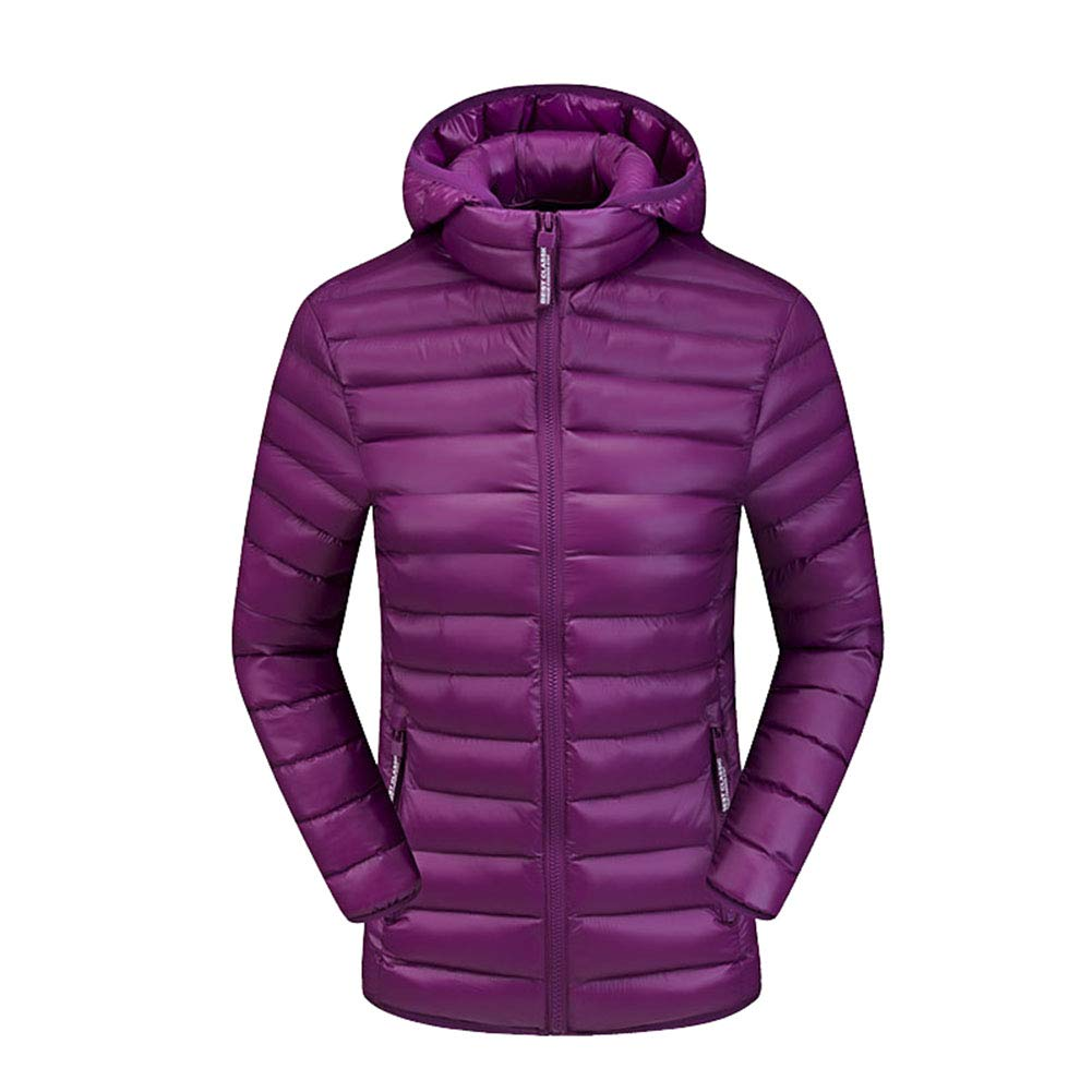 save off ccea4 0aef3 Comcrib Damen Winter Leicht Daunenjacke mit Kapuzen ...