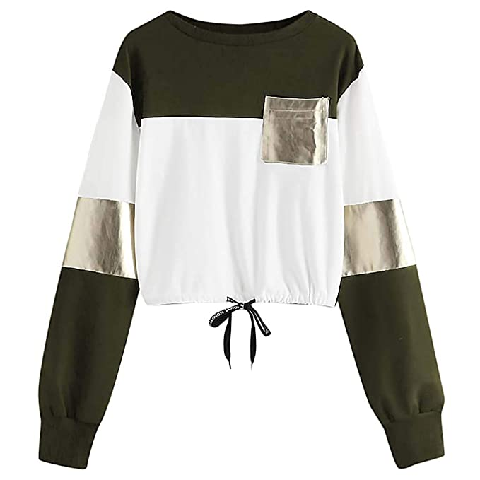 Womens Sweatshirt, Oasisocean Women's Casual Long Sleeve
