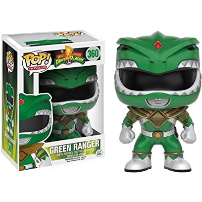 Funko POP TV: Power Rangers - Green Ranger Action Figure: Artist Not Provided: Toys & Games