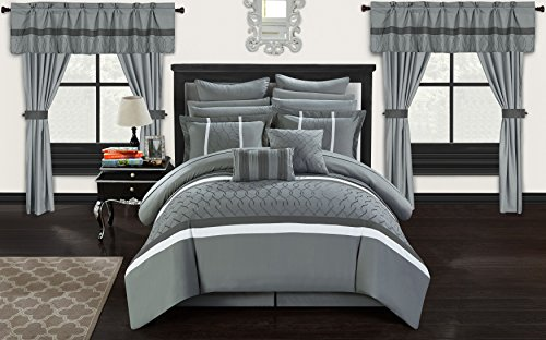 Chic Home CS2875-AN Dinah 24 Piece Bed in A Bag Comforter Se