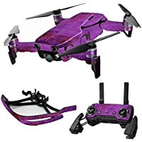 MightySkins Skin for DJI Mavic Air Drone - Purple Sky | Max Combo Protective, Durable, and Unique Vinyl Decal wrap cover | Easy To Apply, Remove, and Change Styles | Made in the USA