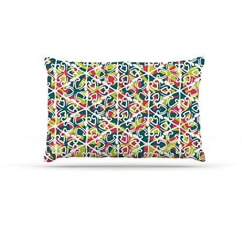 Kess InHouse Miranda Mol Cool Yule  Fleece Dog Bed, 50 by 60 , Multicolor